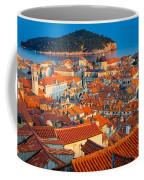 Dubrovnik Rooftops Coffee Mug