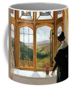 Duchess Of Abercorn Looking Out Of A Window Coffee Mug
