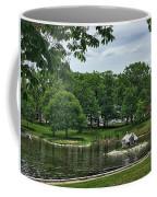 Duck House Deering Oaks Park Portland Maine Coffee Mug