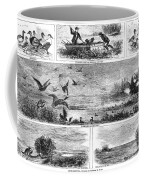 Duck Hunting, 1868 Coffee Mug