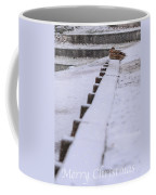 Duck In The Snow Coffee Mug