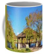 Duck Pond Gazebo At Virginia Tech Coffee Mug