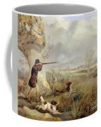 Duck Shooting  Coffee Mug by Henry Thomas Alken