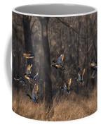 Ducks In Flight Coffee Mug