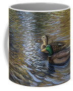 Ducks In The Pond Coffee Mug