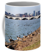 Ducks Of The Potomac Coffee Mug