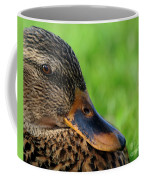 Ducky Up Close And Personal Coffee Mug