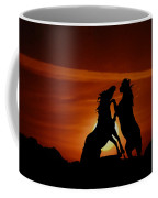 Duel At Sundown Coffee Mug