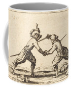 Duel With Swords Coffee Mug
