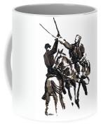 Dueling Sabres Coffee Mug