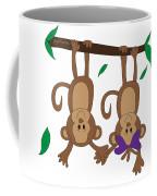 Duffworkscreative_monkeyfunlove_holdinghands Coffee Mug