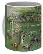 Dufy: Race Track, 1928 Coffee Mug