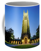 Duke Chapel At Dusk Coffee Mug