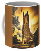 Duke University Chapel At Dusk Coffee Mug