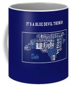 Duke University Fight Song Products Coffee Mug