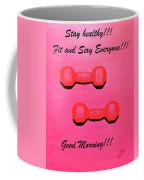 Dumb-bells Coffee Mug