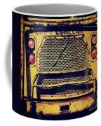 Dump Truck Grille Coffee Mug by Amy Cicconi