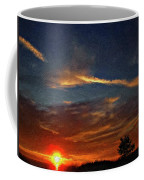 Dune Dreaming Impasto Coffee Mug
