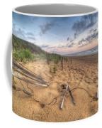 Dune Fencing Down Coffee Mug