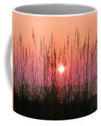 Dune Grass Sunset Coffee Mug
