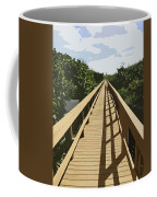 Dune Walk Coffee Mug