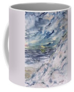 Dunes 2 Seascape Painting Poster Print Coffee Mug