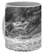 Dunes In Black And White Coffee Mug