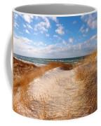 Dunes In Winter Coffee Mug