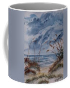 Dunes Seascape Fine Art Poster Print Seascape Coffee Mug