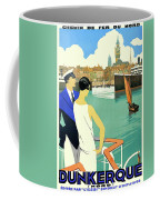 Dunkirk City, View From The Tourist Boat Coffee Mug
