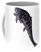 Dunkleosteus Fish On White Coffee Mug
