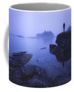 Dunks Point At Sunrise Coffee Mug