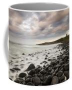 Dunstanburgh Castle Sunset Coffee Mug