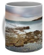 Duntulm At Sunset Coffee Mug