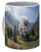 Durango And Silverton Train At Elk Park Wye Coffee Mug
