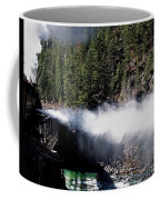 Durango Silverton Blowing Off Steam Coffee Mug