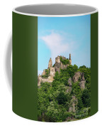 Durnstein Castle And Stone Outcroppings Coffee Mug