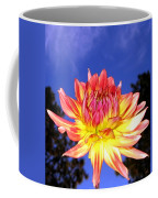Dusk And A Dahlia Coffee Mug