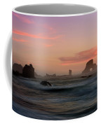 Dusk At Ecola Point Coffee Mug