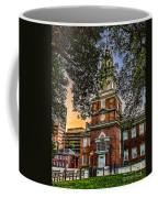 Dusk At Independence Hall Coffee Mug