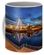 Dusk At The Zakim Bridge Coffee Mug