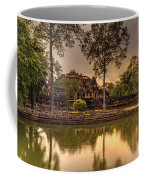 Dusk Light Preah Khan Temple Reflection Coffee Mug