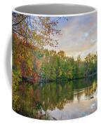 Dusk On Autumn Lake  Coffee Mug