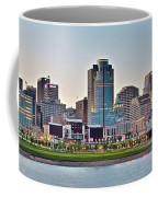 Dusk Pano In Cincinnati Coffee Mug