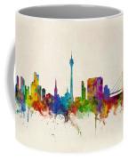 Dusseldorf Germany Skyline Coffee Mug