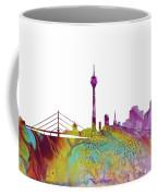 Dusseldorf Skyline 3 Coffee Mug
