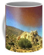 Dust Storm Over Joshua Tree Coffee Mug