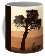 Dusty Sunset Over The Mara Coffee Mug