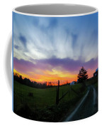 Dutch Lane In Evening Sky Coffee Mug