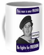 Dutch Sailor This Man Is Your Friend Coffee Mug